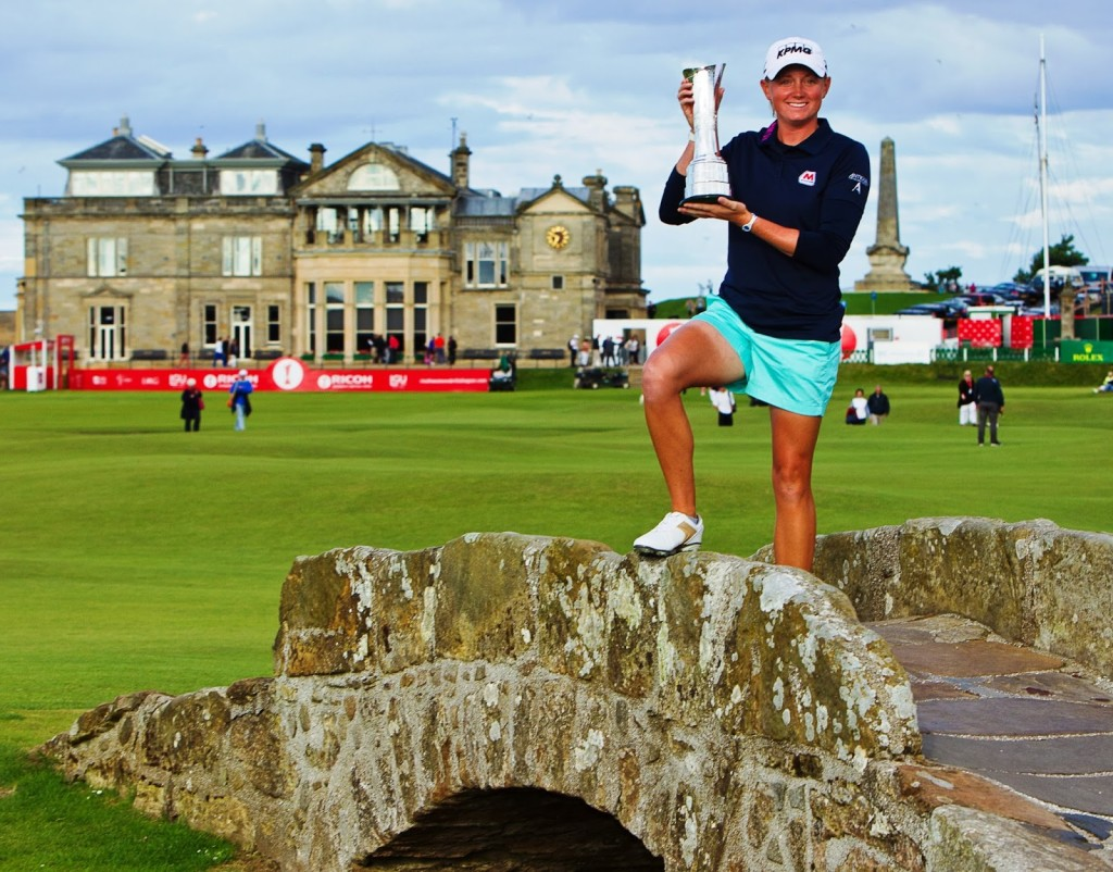 Lewis won the Women's British Open earlier this year