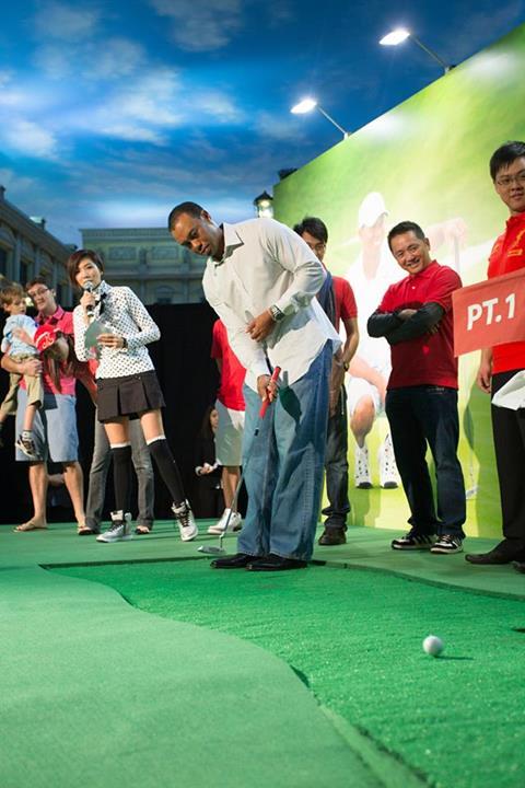 Tiger Woods Venetian Macao