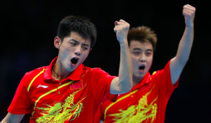 Chinese table tennis dominance