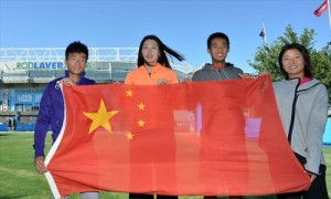 Half of China's contingent at the Australian Open