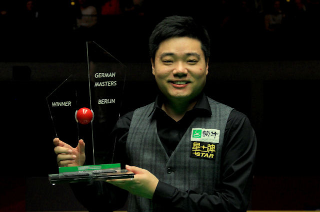 Ding Junhui wins German Masters
