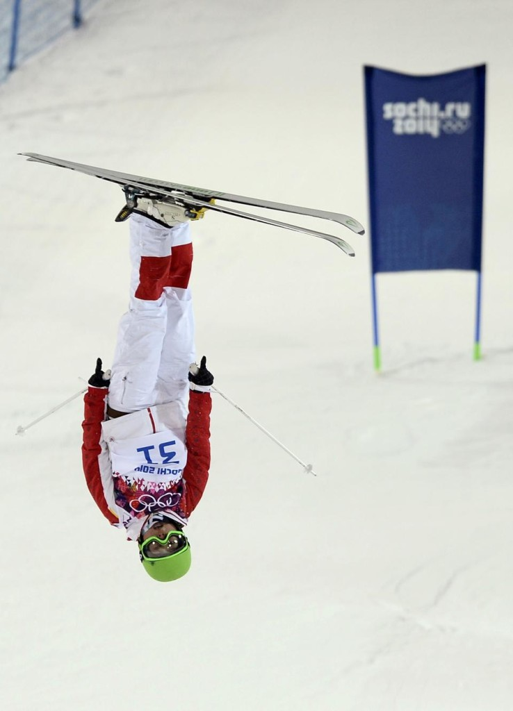 Ning Qin in action at the Sochi Olympics  Photo credit: Reuters