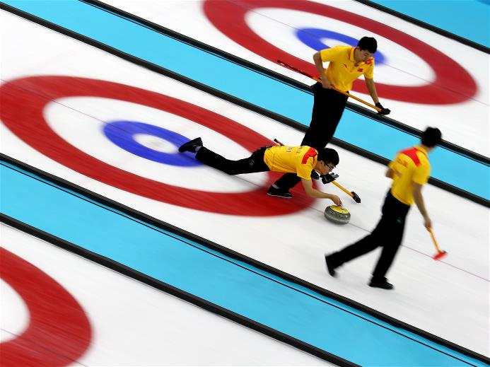 The surprisingly dominant  Chinese men's curling team