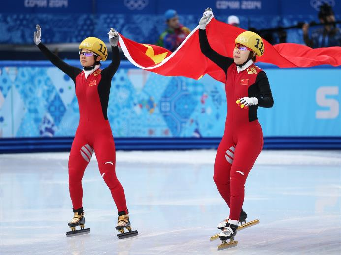 Zhou Yang and Li Jianrou will both be racing in the 3,000 relay final.