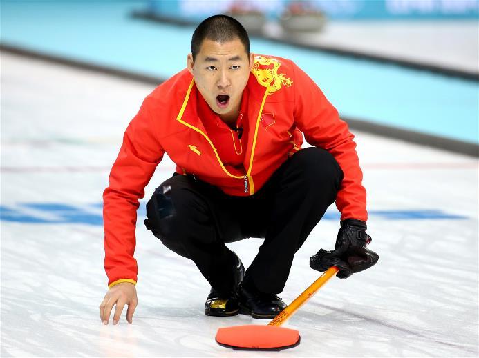 Chinese skip Liu Rui