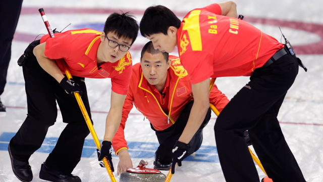 Chinese men's curling team