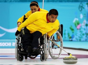 Wang Haitao China wheelchair curling