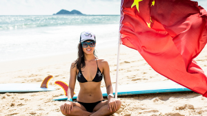 Darci Liu, China's first female pro surfer