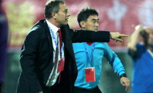 Alain Perrin China national team boss