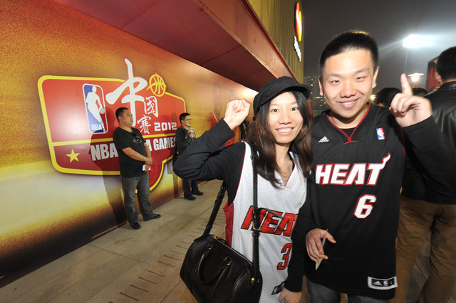 NBA fans in China will have to be content with pre-season games for the foreseeable future