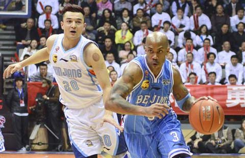 Stephon Marbury CBA Finals