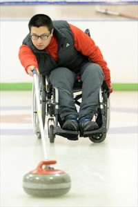 Wheelchair curler He Jun