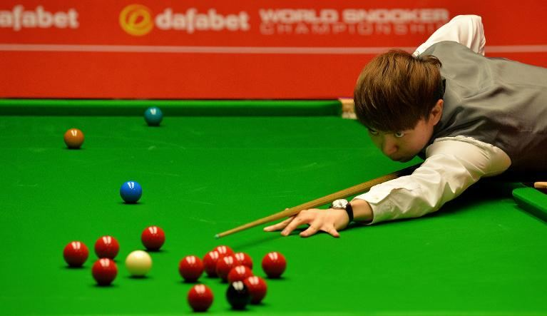 World no. 25 Xiao Guodong has shot up the rankings this season