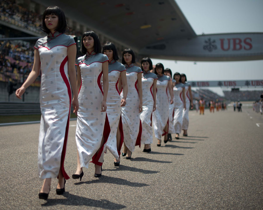 Chinese Grand Prix grid girls