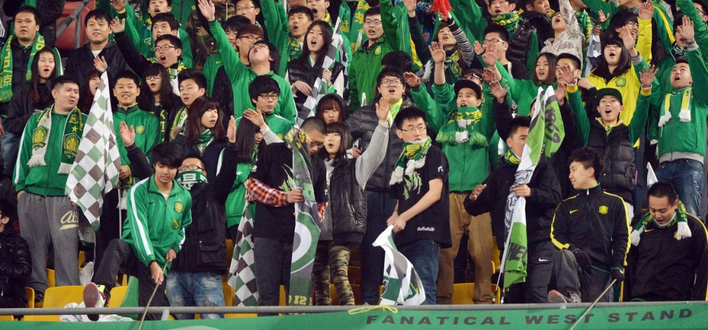 China has a higher proportion of female football fans than many other countries
