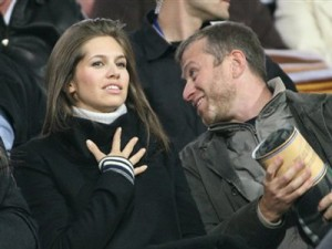 Dasha Zhukova, daughter of the OTHER Alexander Zhukov, with Roman Abramovich