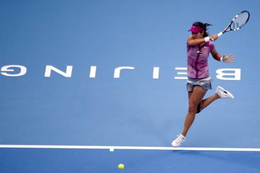 Li Na at the China Open in Beijing