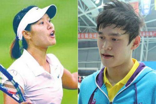 Li Na and Sun Yang