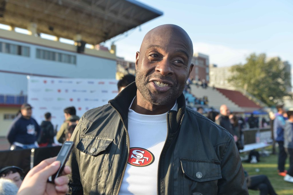 Jerry Rice in China