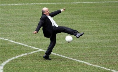 Sepp Blatter cocks it up one more time