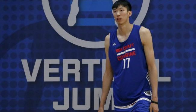 Long road to NBA for Chinese duo