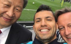 Aguero selfie