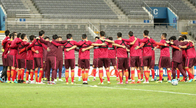 China set for underdog role in World Cup qualifying