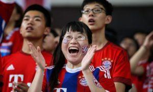 Chinese Bayern fans