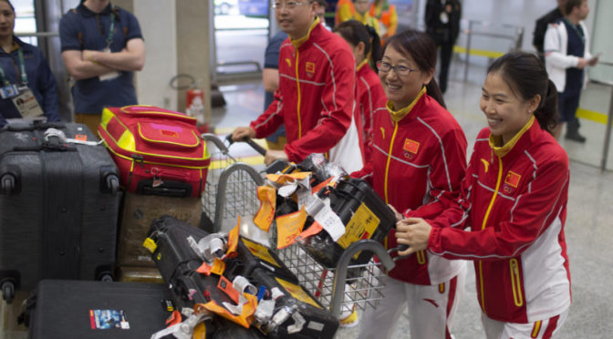 Pressure builds on China as problems circle Rio Olympics