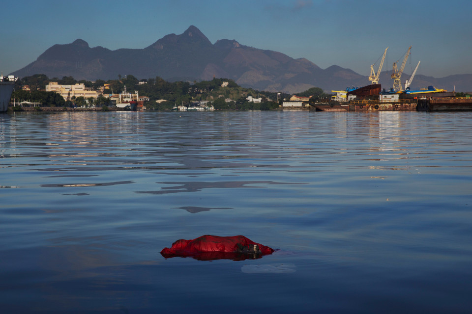Dead body Rio Olympics