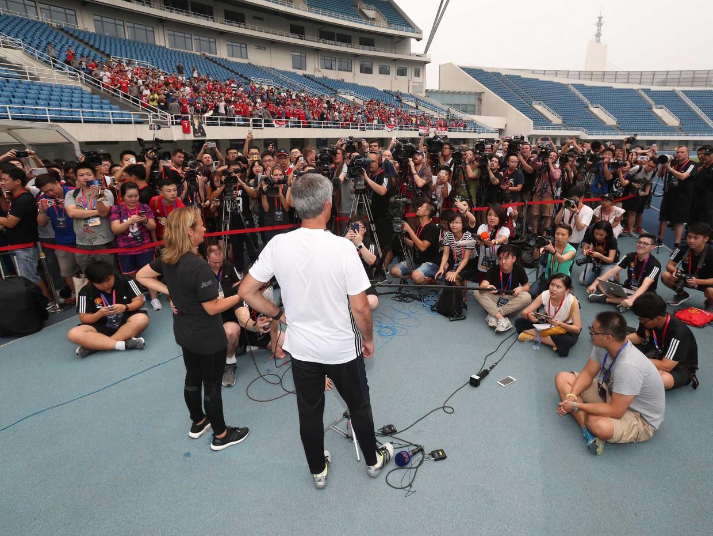Jose Mourinho press conference Beijing
