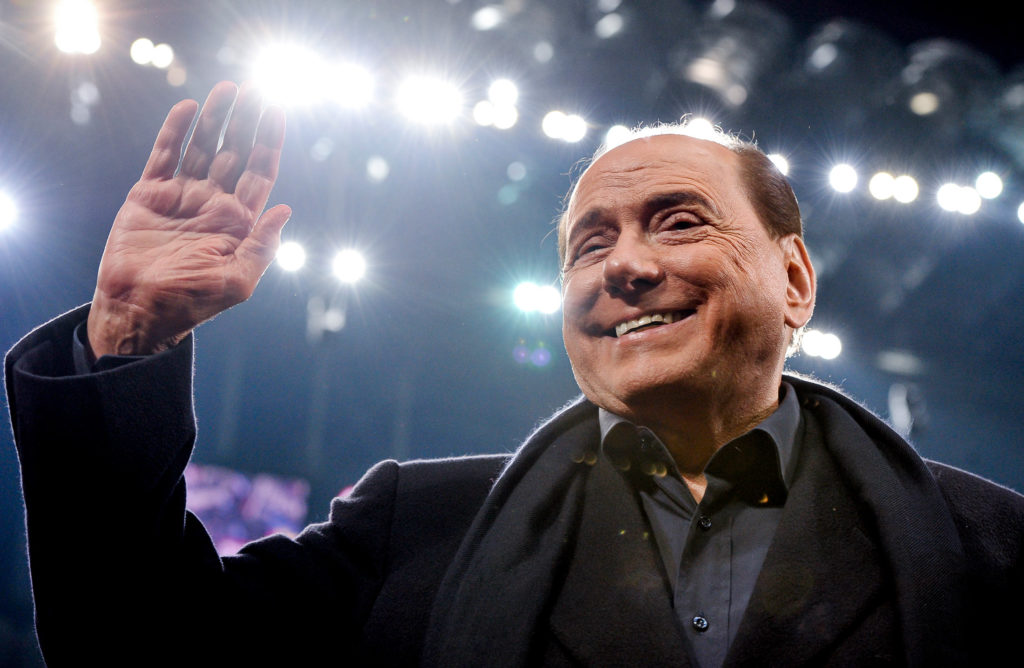 Milan fans can now finally say goodbye to Silvio Berlusconi