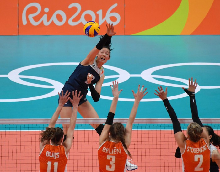 Zhu Ting almost single-handedly took down the Netherlands in the Olympic semi-final.